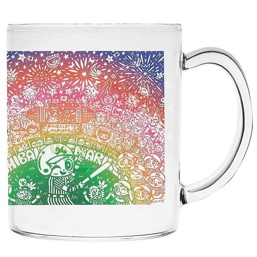 Momoyo×Marines グラスマグカップ