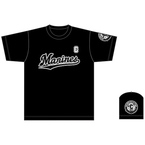 CAPTAIN NAKAMURA Tシャツ(マリーンズロゴタイプ)