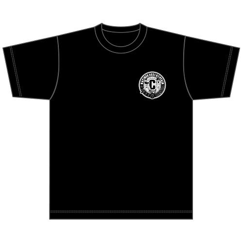 CAPTAIN NAKAMURA Tシャツ(胸ワンポイントロゴタイプ)