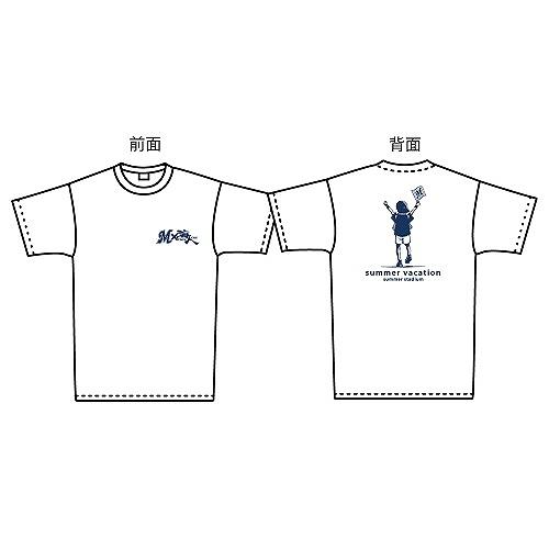 M×海人 サマーバケーションTシャツ応援.ver(ホワイト)