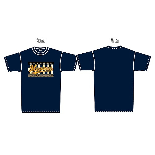 M×海人 ミンサーTシャツ(ネイビー)