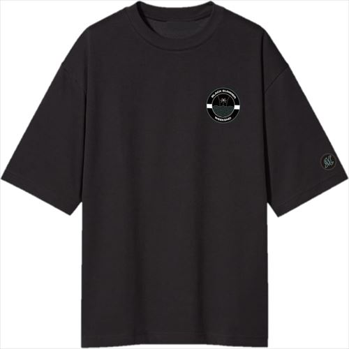 BSW ロゴBIG Tシャツ BLK