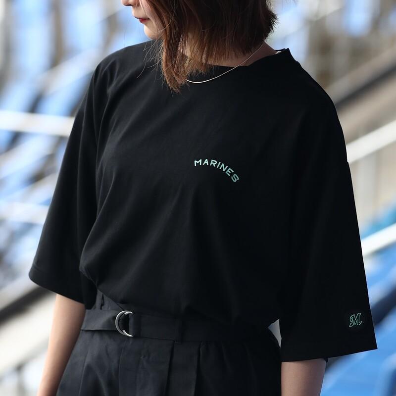 BSW ワードロゴBIG Tシャツ BLK