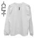 CLMロゴ 長袖Tシャツ ホワイト  (CLM21-022)