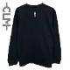 CLMロゴ 長袖Tシャツ ブラック  (CLM21-022)