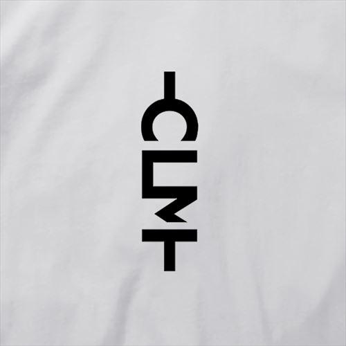 マーくんイラストロゴ 長袖Tシャツ ホワイト (CLM21-023)