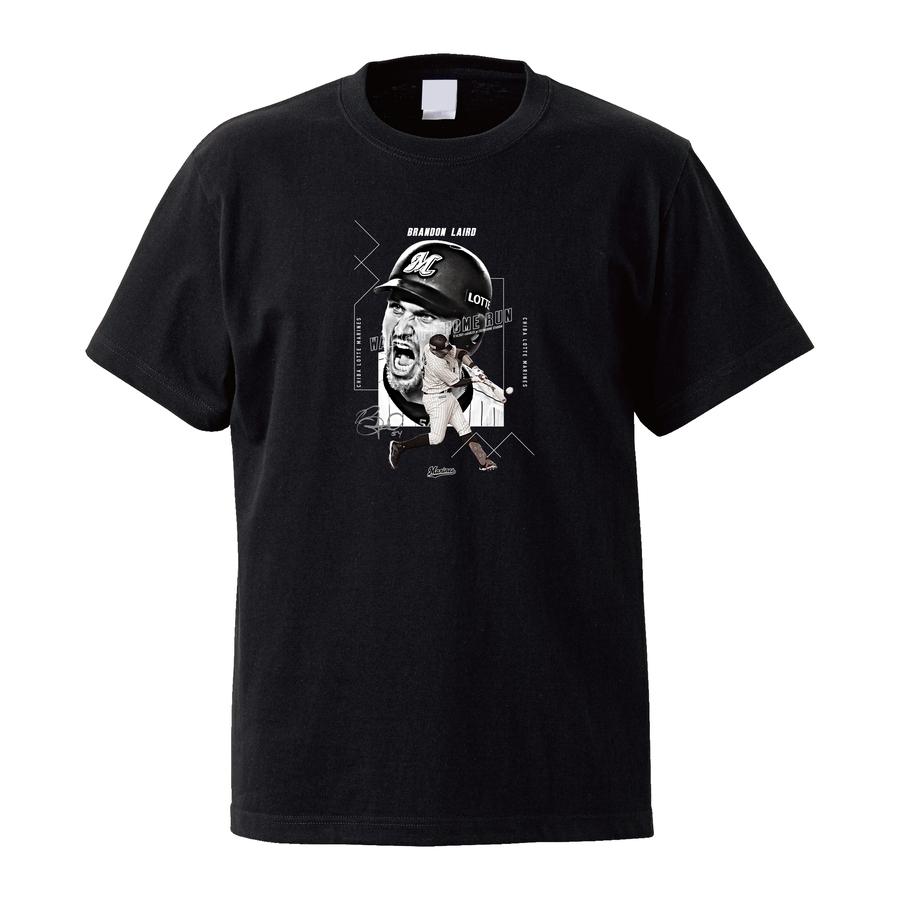 【受注販売】レアード選手 9月度サヨナラ賞受賞記念Tシャツ ブラック