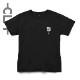 CLMアートPt 半袖Tシャツ ブラック(CLM21-003)
