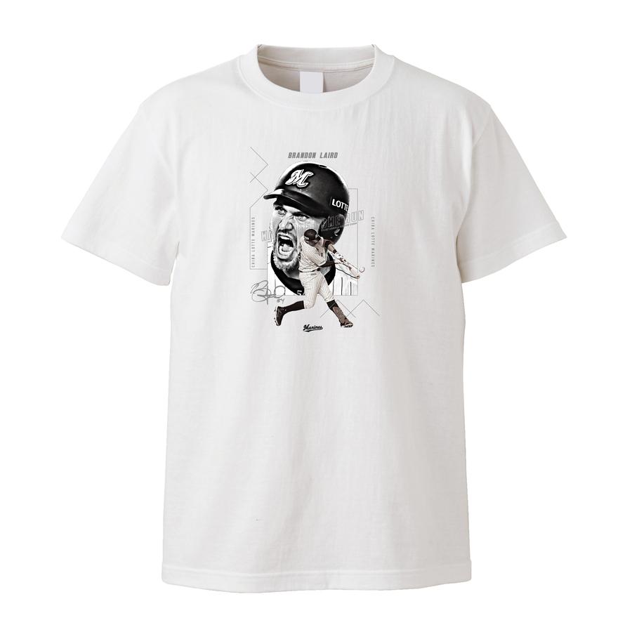 【受注販売】レアード選手 9月度サヨナラ賞受賞記念Tシャツ ホワイト