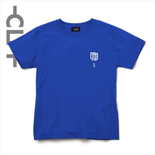 CLMアートPt半袖Tシャツ ブルー(CLM21-003)
