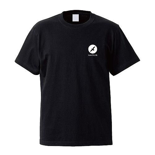 刺繍KAMOMELIFE Tシャツ BK