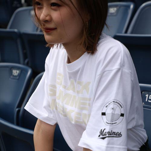 BSW ニンジャプリントワードTシャツ