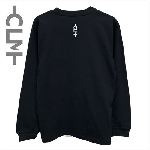 SUN SETフォト 長袖Tシャツ ブラック (CLM21-024)