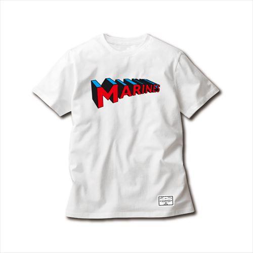 【受注販売】3DMARINESTシャツ ホワイト