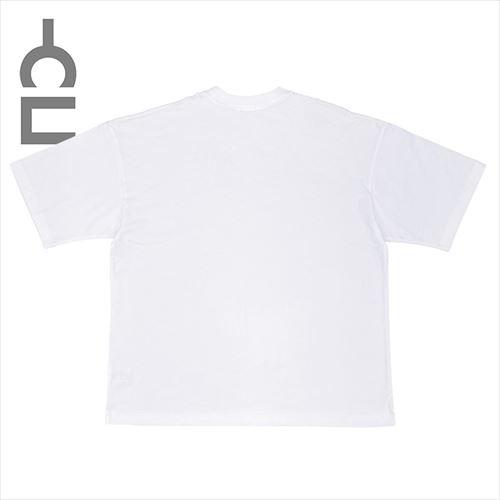 9.4oz US COTTON 刺繍TEE ホワイト(CLM21-026)