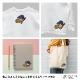 ワッペン付きBOXロゴPtTシャツ ブラック (CLM21-007)