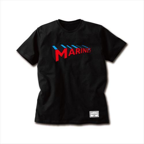 【受注販売】3DMARINESTシャツ ブラック