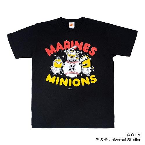 2018ミニオン×マリーンズ Tシャツ(MAIN VISUAL)