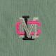 9.4oz US COTTON 刺繍TEE オリーブ(CLM21-026)