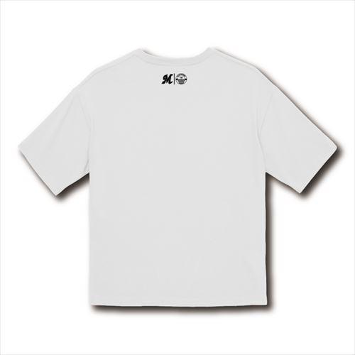 【受注販売】BSW MARINESロゴビッグTシャツ(フロントプリント) ホワイト