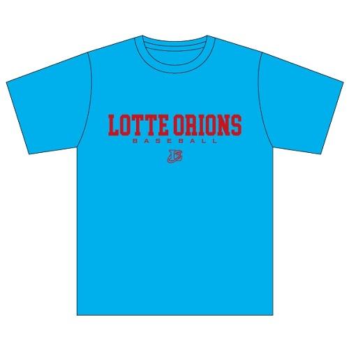 LOTTE ORIONS BASEBALL Tシャツ(サックス)
