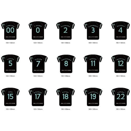 【シークレット商品】BSWシークレットユニホーム型マグネット(30選手)