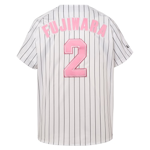 ※Oサイズ※【受注販売】<br>全選手対応レプリカユニホーム(ピンク)