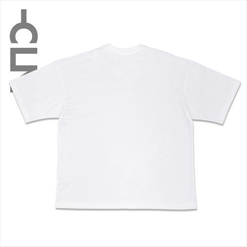 刺繍ネーム付きポケットTシャツ ホワイト(CLM21-006)