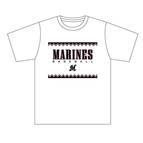 Marines BASEBALL Tシャツ(ホワイト 2005Ver.)