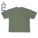 刺繍ネーム付きポケットTシャツ オリーブ(CLM21-006)