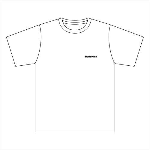 マリンウェーブTシャツ(ホワイト)