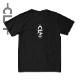 CLMモチーフPtTシャツ ブラック (CLM21-005)