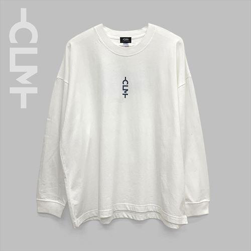 海岸フォト長袖BIGTシャツ ホワイト(MRT20-6064)
