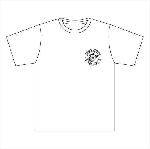 Marines 海軍風Tシャツ(ホワイト)