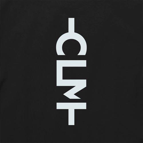 かもめグラデーション半袖TEE ブラック (CLM21-008)