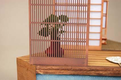 cobaanii工房 1/12スケール 格子戸太目2枚セット11wz-002