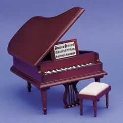 ドールハウス用 グランドピアノ 2686