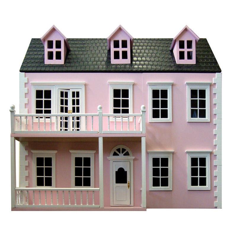 英国製ドールハウスキット グレンサイドグランジDH027PP(ピンク)