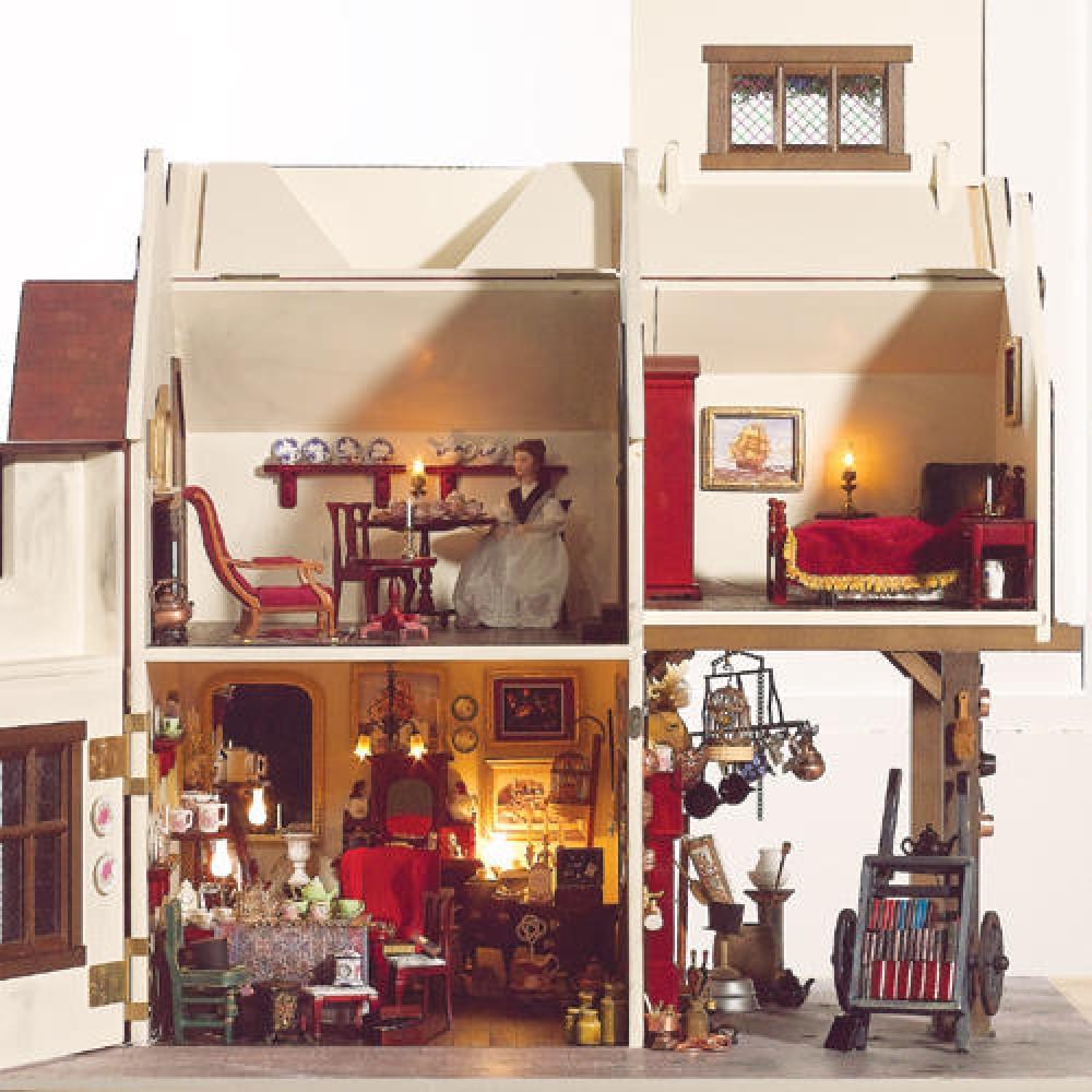 英国製ドールハウスキット ストラットフォードチューダーハウス1319