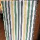 kgm-01[木綿の着物] 片貝木綿 縞 緑 (仕立て代込み)