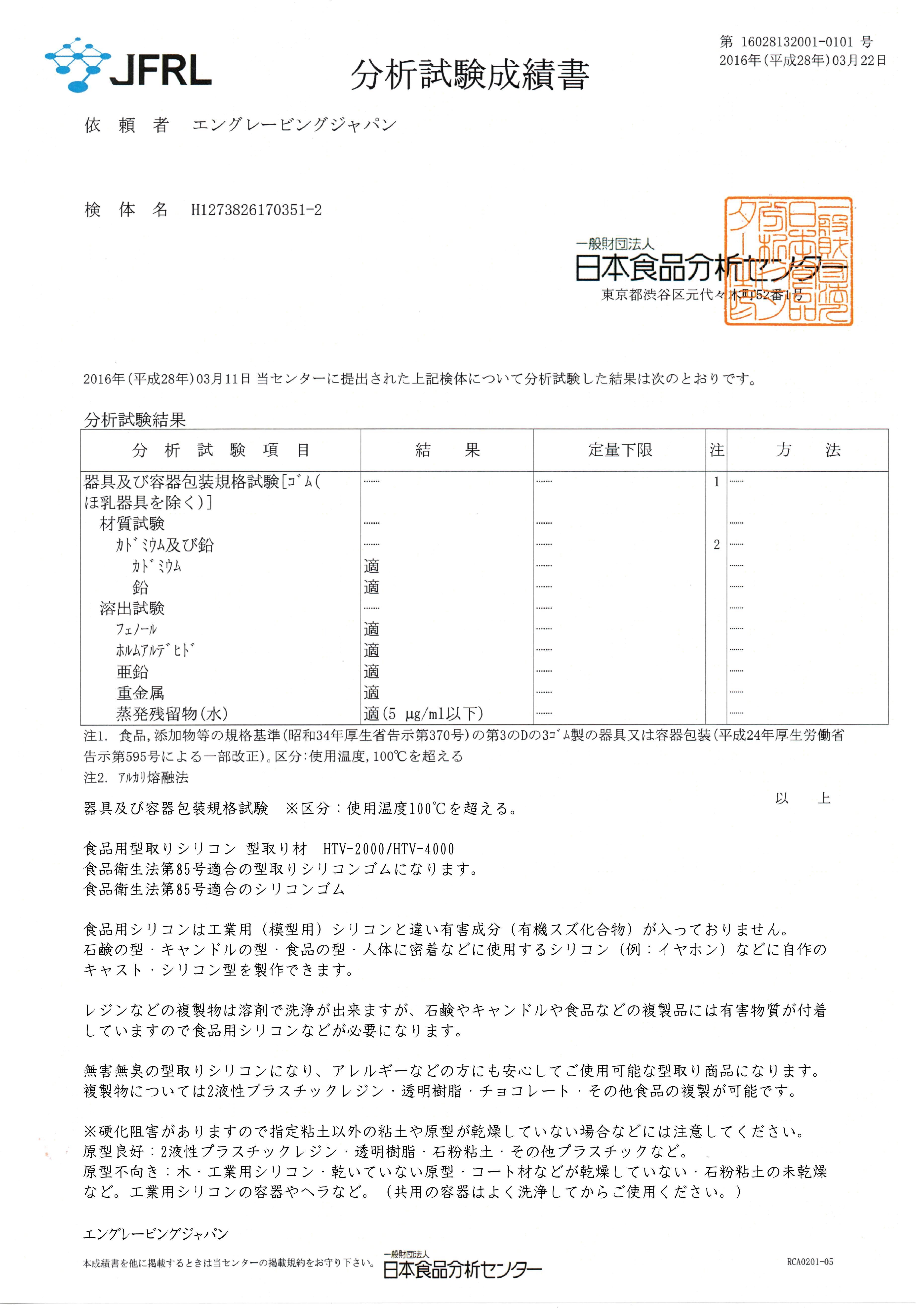 【食品用シリコン】HTV-4000 硬さ:普通タイプ 1KGセット