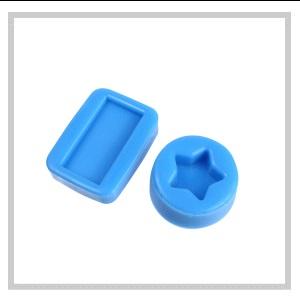 【食品用シリコン】HTV-4000 BLUE 硬さ:普通タイプ 1KGセット