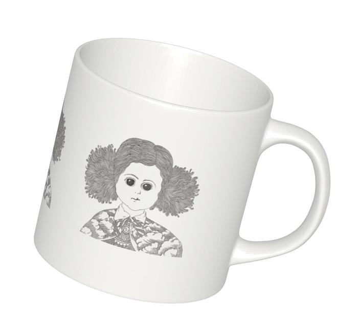 特別セール品《伊坂芳太良イラスト》オリジナルマグカップ� Sサイズ