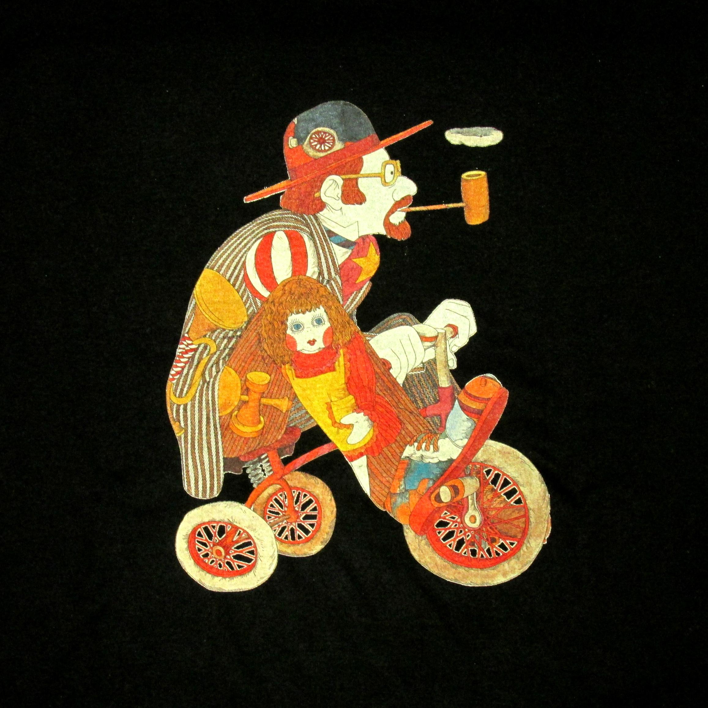 伊坂芳太良 illustration <br>ヘビーウェイト生地Tシャツ�
