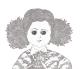 伊坂芳太良 illustration <br>Tシャツ・ホワイト<br>(お好きなデザインをどうぞ)