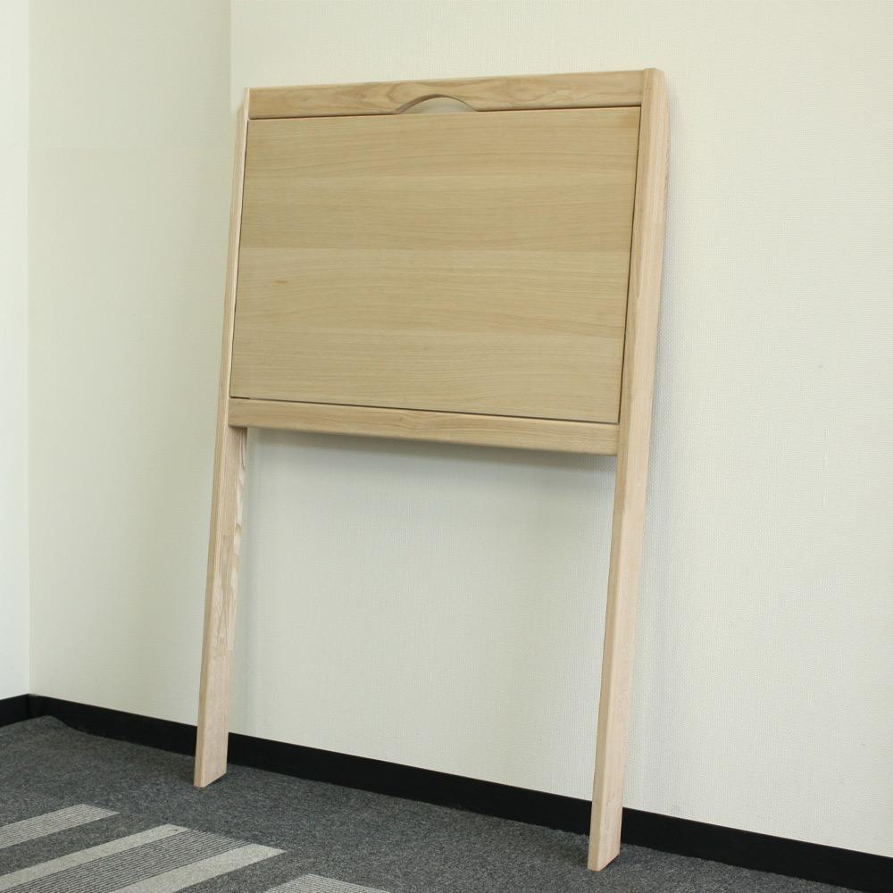 【壁たて掛けタイプ】<br>折り畳みデスク3