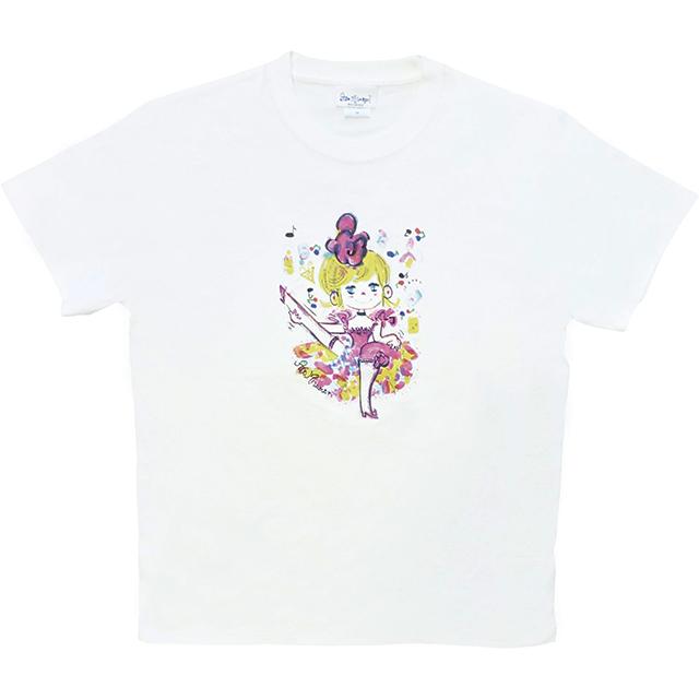 水森亜土 レディースTシャツ ダンス