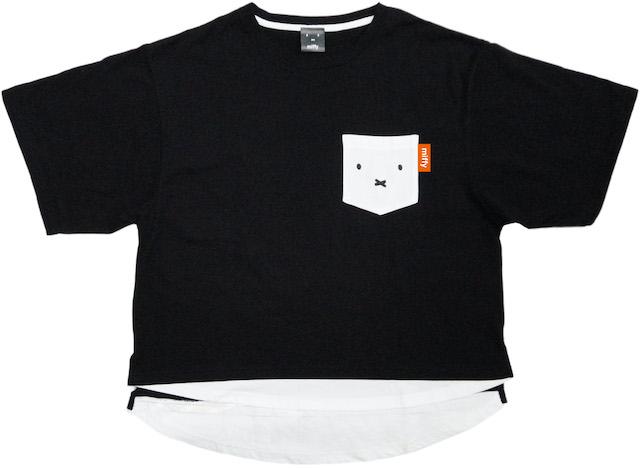 ミッフィー レイヤード風Tシャツ ミッフィーB