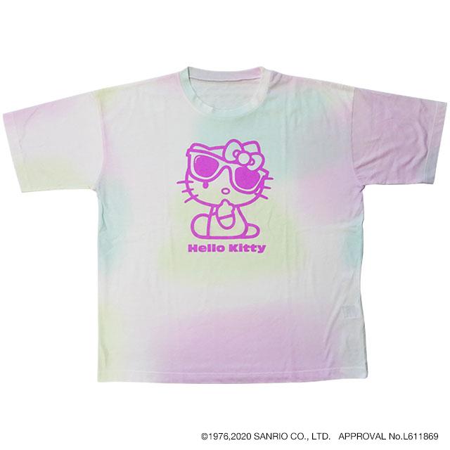 タイダイ風BIG Tシャツ ハローキティ