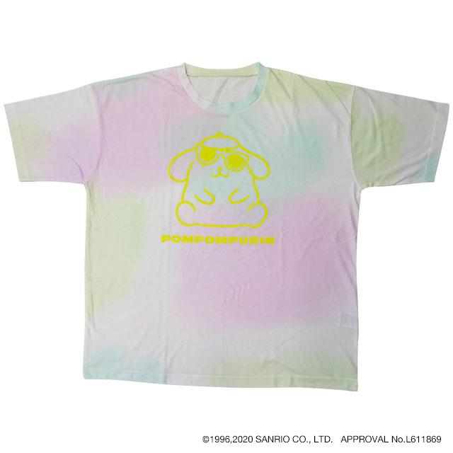 タイダイ風BIG Tシャツ ポムポムプリン